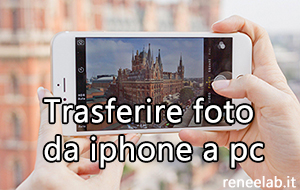 trasferire foto da iphone a pc - Renee iPhone Recovery