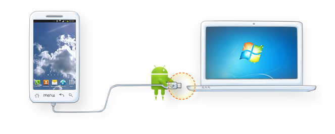 connecter android a pc